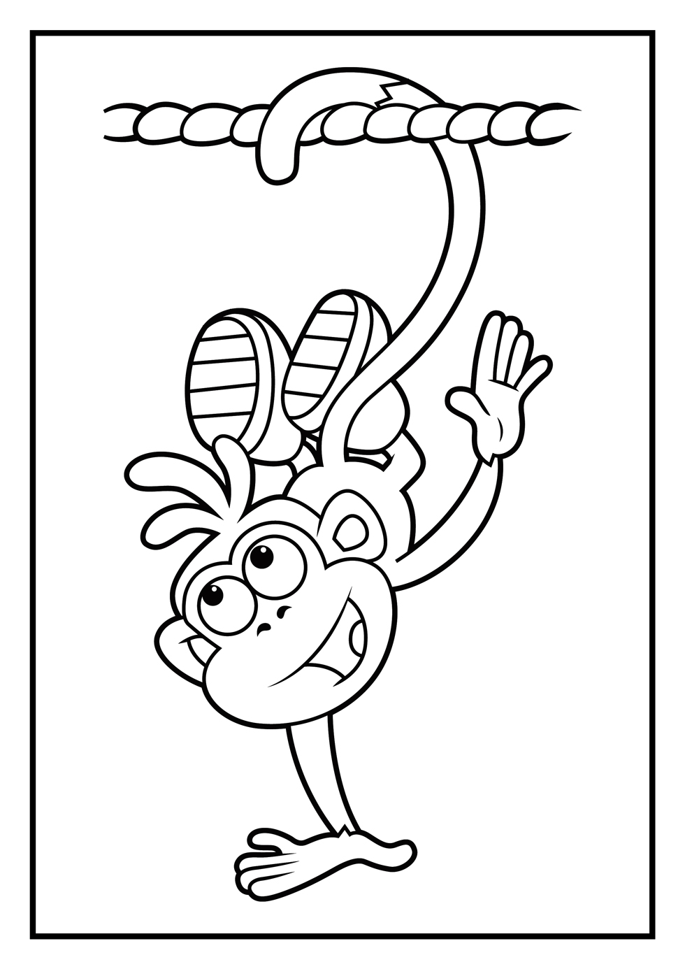Dora Coloring Pages | Diego Coloring Pages