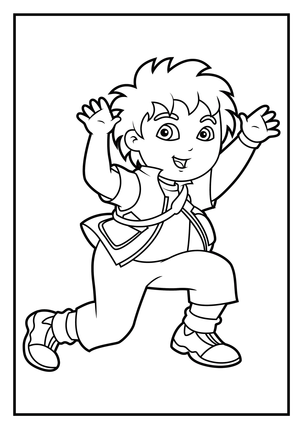 deigo coloring pages - photo#1