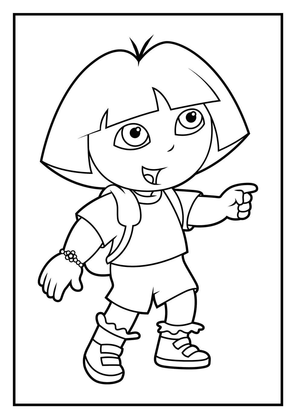coloring pages games - dora coloring page games coloring pages