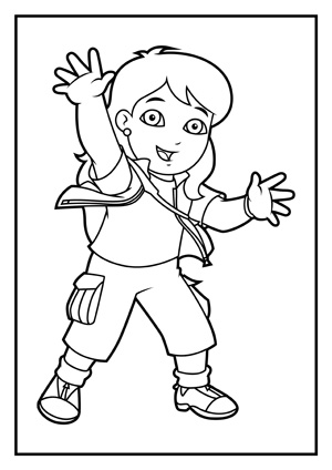 Alicia Coloring Pages