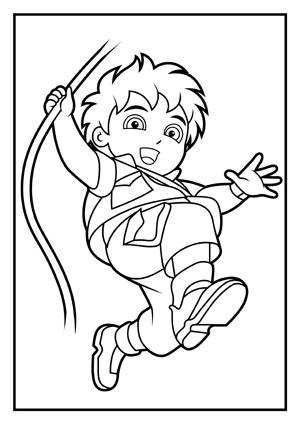 Diego Coloring Page
