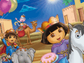 Dora And Diego Online Coloring Page