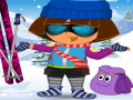 Dora Skiing Dress Game
