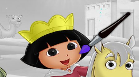 Dora And Diego Online Coloring Page  Diego Games