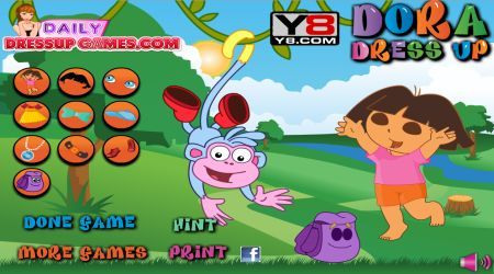 Screenshot - Dora Dress Up