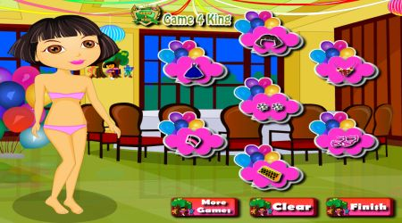 Screenshot - Dora Fashion Party Dress Up