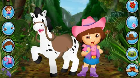 Screenshot - Dora Pony Dress Up