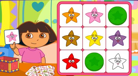 Screenshot - Dora Say It Two Ways Bingo