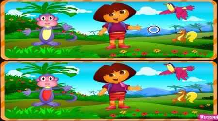Dora spot the difference dora games screenshot dora spot the difference altavistaventures Images