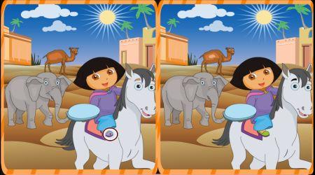 Screenshot - Dora Spot The Difference