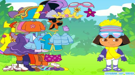 Screenshot - Dora The Explorer Dress Up