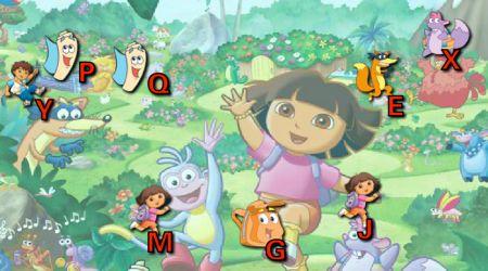 Screenshot - Dora The Explorer Typing