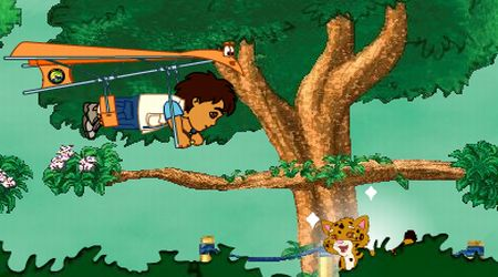 Screenshot - Go Diego Go! Rainforest Adventure
