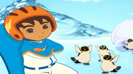Screenshot - Go Diego Go! Snowboard Rescue