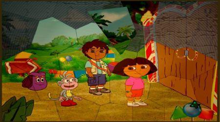 Screenshot - Puzzle Mania: Dora And Diego