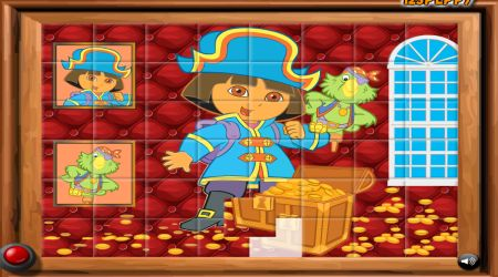 Screenshot - Sort My Tiles Dora The Pirate